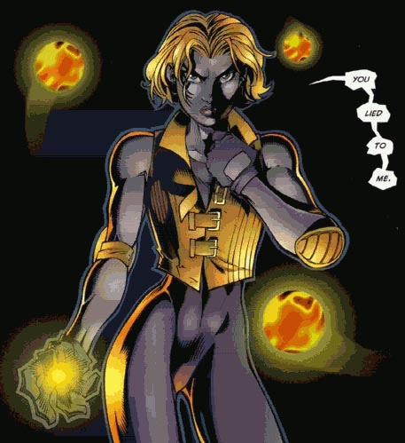 X Men Boom Boom http://forums.comicbookresources.com/showthread.php?262106-Club-T-A-B-Y-Boom-Boom-Appreciation/page17