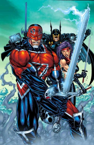 Captain Britain Superheroes
